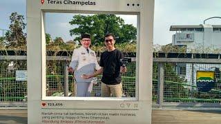 Teras Cihampelas Skywalk Bandung • Full Tour • Inimasabi