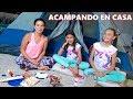 ACAMPANDO EN EL JARDIN | TV ANA EMILIA