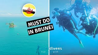 Discovering Scuba Diving In Brunei