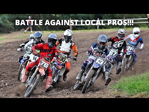 CRAZY RACING WITH LOCAL PROS!!!   2019 KTM 250SXF