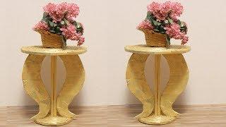 DIY Newspaper Crafts - Newspaper Flower Vase - Diy Crafts