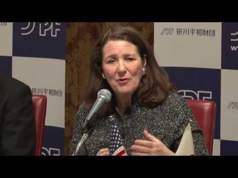 笹川平和財団主催 「日米議員交流」に関する記者会見 Press Conference on the Japan-U.S. Congressional