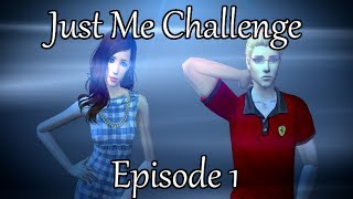 The Sims 2: Just Me Challenge - Story time! - (Part 1) w/Commentary