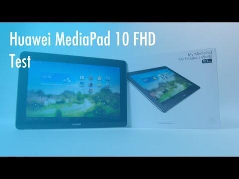 Huawei MediaPad 10 FHD Test - Deutsch