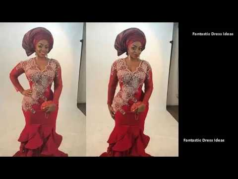 Top Collection of African Trendy Ladies Fashions - Ankara ASO EBI Style Collection