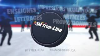Gambar cover Trim Line de l'Abitibi Hockey Arena Advertising Video