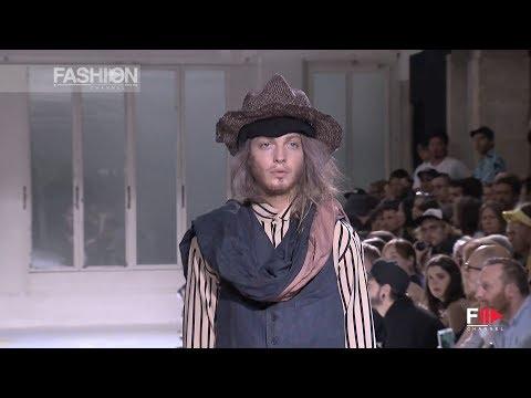 """YOHJI YAMAMOTO"" Menswear Spring Summer 2015 Paris Fashion Show by Fashion Channel"