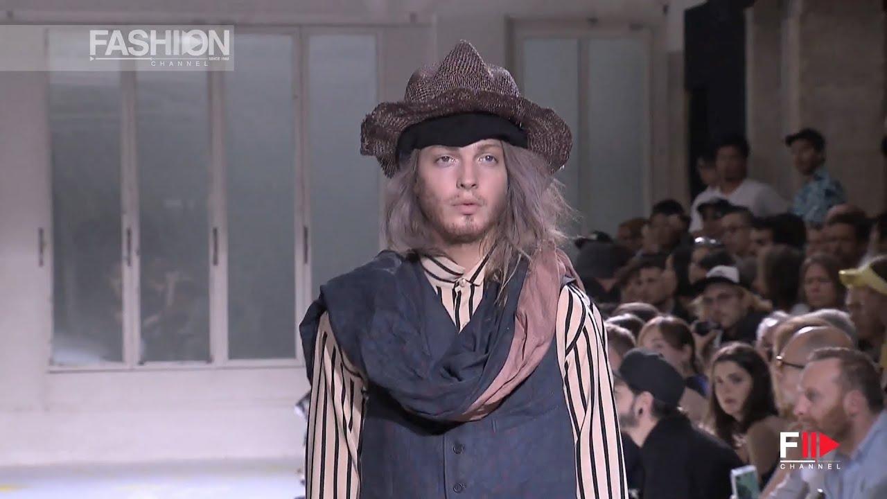 'YOHJI YAMAMOTO' Menswear Spring Summer 2015 Paris Fashion Show by Fashion Channel