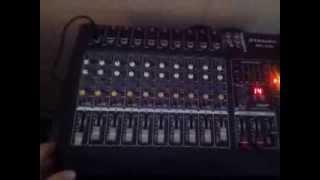 BM-228 GTD audio powered mixer