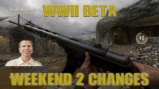 *CALL OF DUTY WWII BETA* | WEEKEND # 2 CHANGES!!! | BREAKDOWN ON CHANGES