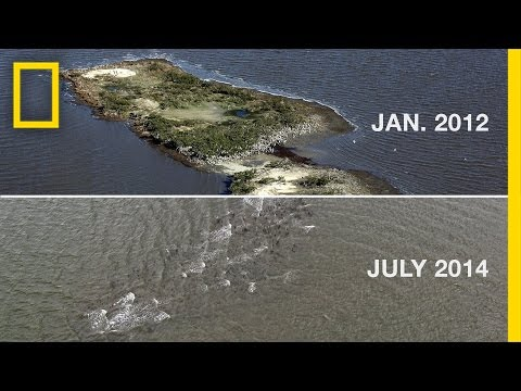 The Gulf Oil Spill Disintegrated This Island | National Geographic