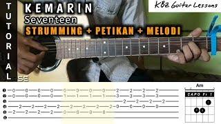 Chords For Seventeen Kemarin Tutorial Gitar Chord Petikan Strumming Melodi