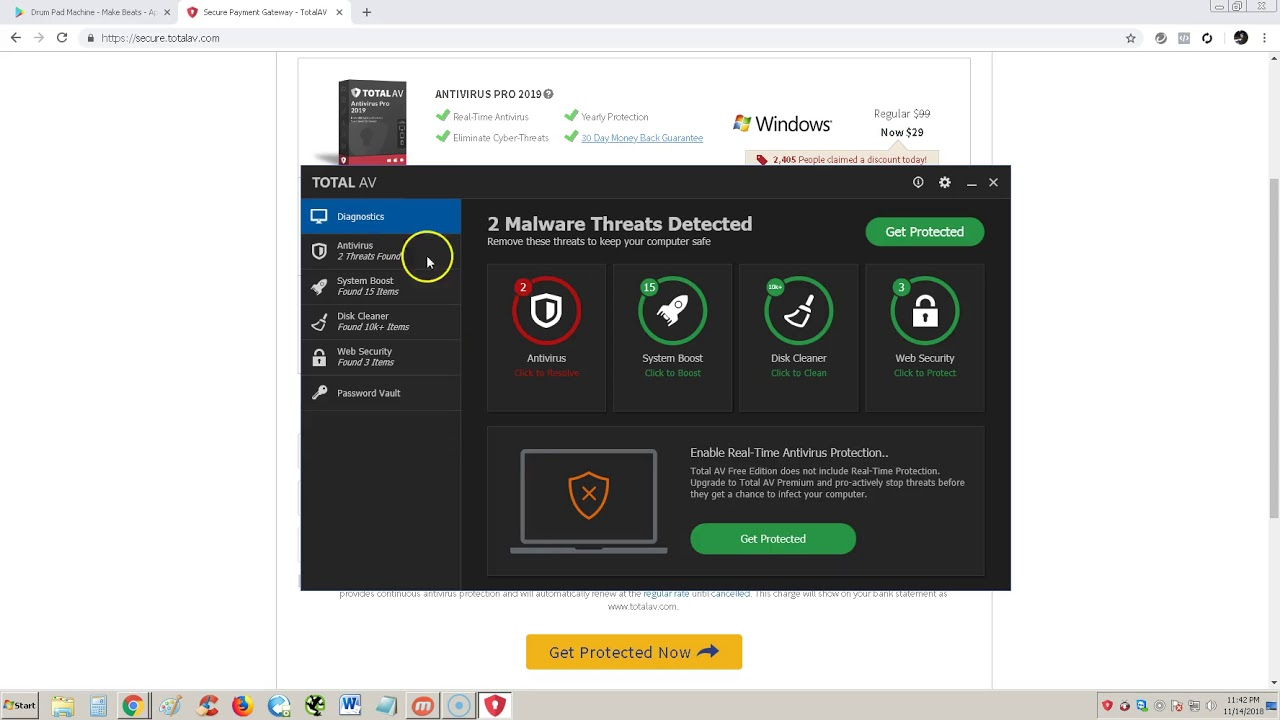 antivirus pro android security download free