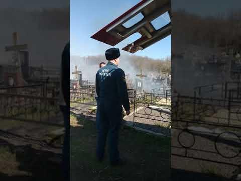 ЖЕСТЬ на кладбище в РостовЕ-на-Дону