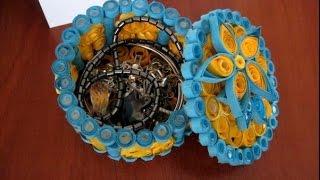 Как сделать шкатулку(Как сделать шкатулку. Очаровательная шкатулка из бумаги может стать украшение вашего туалетного столика..., 2014-09-24T10:18:29.000Z)