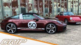 Porsche 911 Targa 4S  | Rennen gegen Walter Röhrl | GRIP