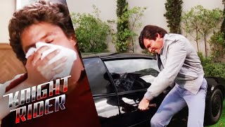 KITT's Controls Are Tampered With | Knight Rider