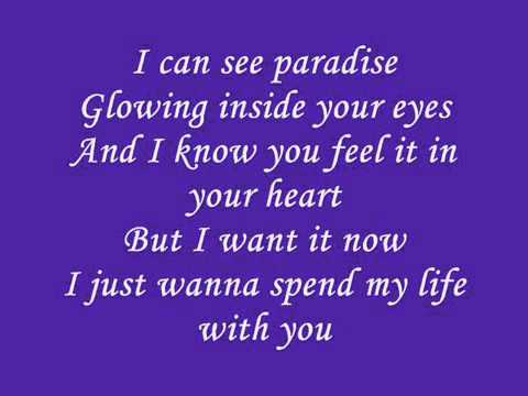 I Just Wanna Spend My Life With You Lyrics By Dharsika ...