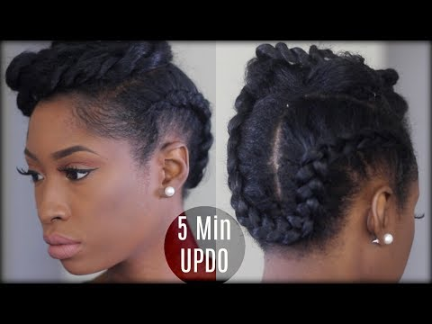 5 Natural Hairstyles For Work That Are Quick and Chic