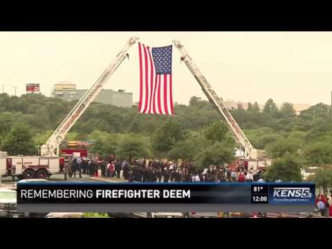 San Antonio remembers fallen SAFD firefighter Scott Deem