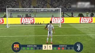 FIFA 18 / PENALTIS / BARCELONA VS JUVENTUS