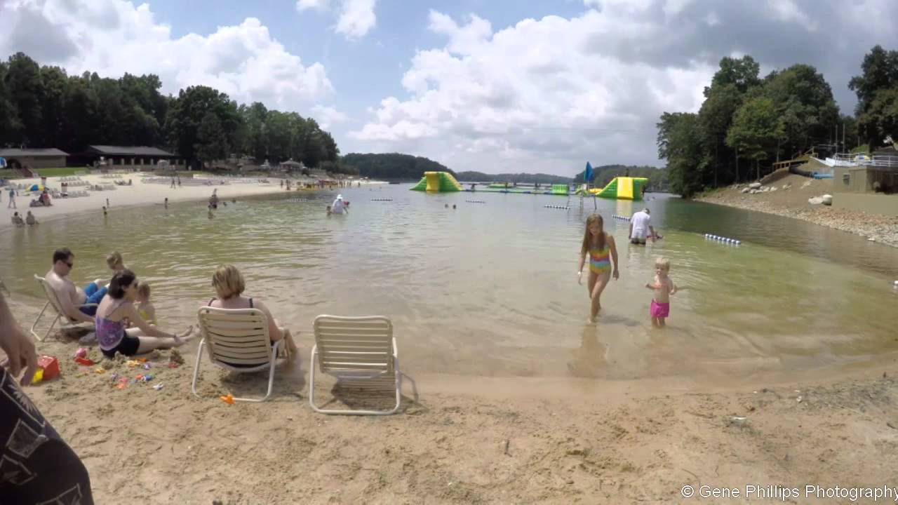 Lanierworld Wave Pool And Beach Time Lapse Video