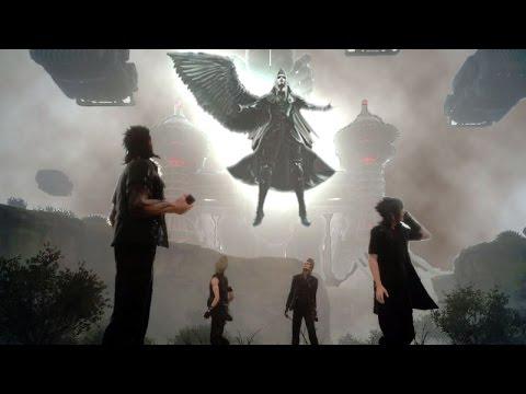 Final Fantasy XV Sephirot Secret Boss Last Final Battle tokyo game show