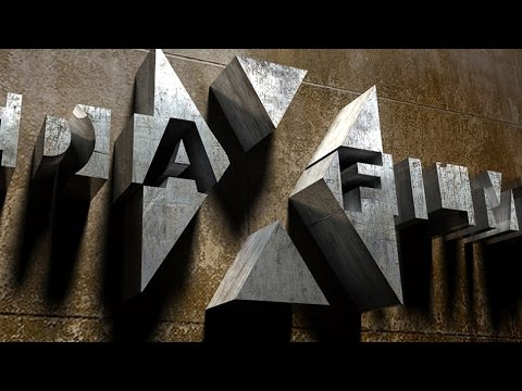 Photoshop Tutorial: How to Create a 3D, Cinematic, Movie Title Design