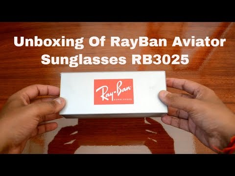 rayban-|-rb3025-l2823-58-14-aviator-sunglasses-|-unboxing-|-black-&-green-color-|-rayban-store-|2017