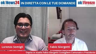 Lo Sport post-covid ne parliamo con Fabio Giorgetti Presidente Commissione Cultura Sport di Firenze