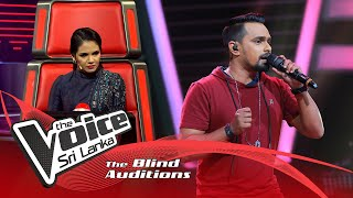 Janith Warnakulasooriya - Pem Apsarawo (පෙම් අප්සරාවෝ) |Blind Auditions | The Voice Sri Lanka Thumbnail