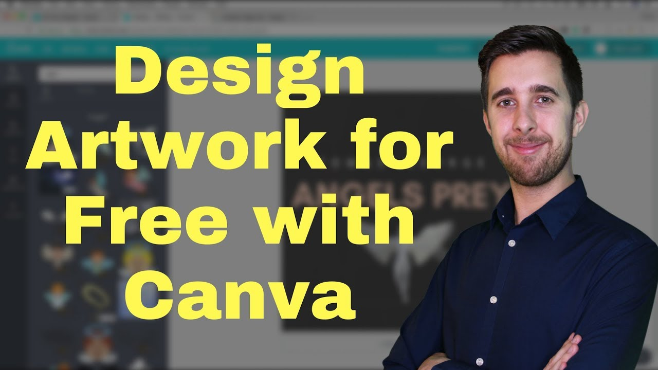 How to Design Artwork for Free with Canva | Create Album Artwork for Free  Online