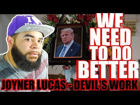 {{ REACTION }} Joyner Lucas - Devil's Work (ADHD) - This Is How You Do A Tribute