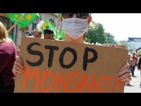 Marcha internacional contra Monsanto