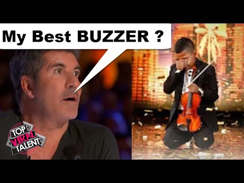 Simon's BEST GOLDEN BUZZER EVER? When Little Boy Starts To Cry After... NEVER GIVE UP ON YOUR DREAMS