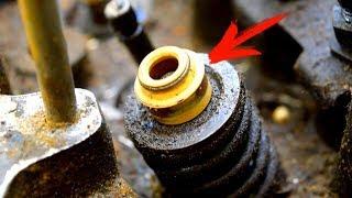 Почините всего одну деталь и двигатель больше не будет расходовать МАСЛО!