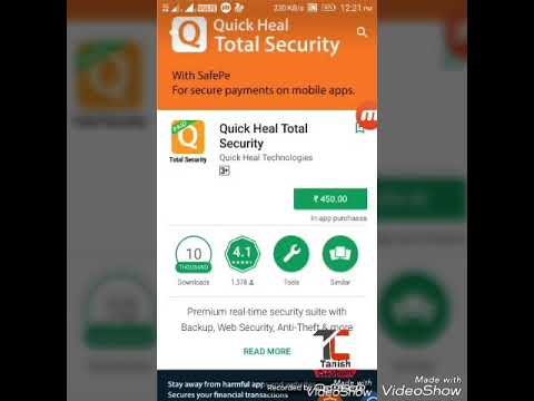 How To Download Quick Heal Antivirus On Your Android For Free