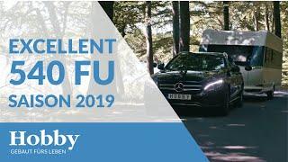 Hobby EXCELLENT 540 FU Saison 2019