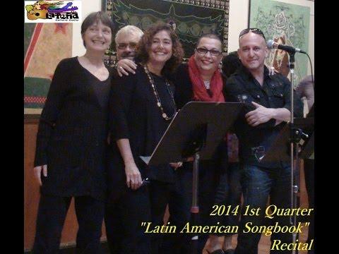 Latin American Songbook Recital - Marquez Pinto Class