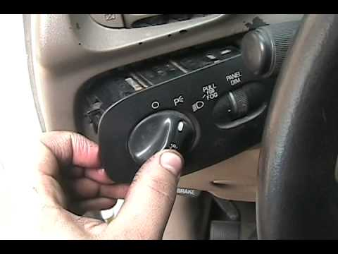 Installing Fog Light Switch Ford F150 - YouTube