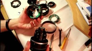 Oprava Canon 17-85mm, repairing Canon 17-85mm.