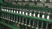 Spandex Yarn Covering Machine - YouTube