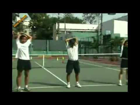 Học Tennis - Khởi động - Hoctennis.net 0963221048