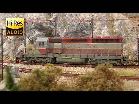 Model Trains In Canada: Locomotives Of Canadian Pacific, CP Rail, SOO And Canadian National Railway
