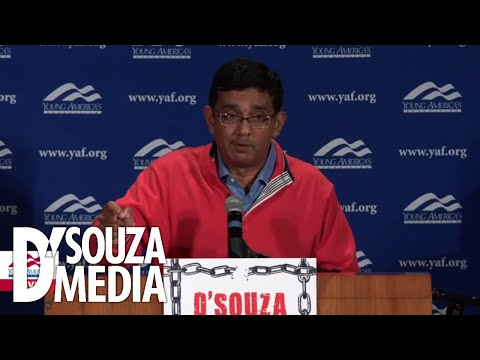 Dinesh D'Souza takes on leftist snowflakes at UNC Greensboro