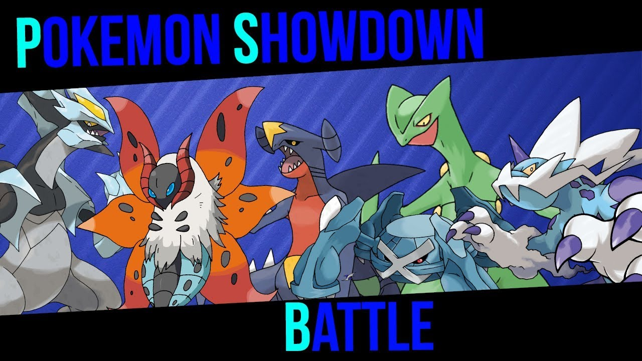 Showdown pokemon