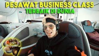 PESAWAT QATAR BUSINESS CLASS TERBAIK DI DUNIA