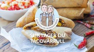 Taco vårrull