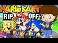 Mario Kart RIP OFFS! - ConnerTheWaffle