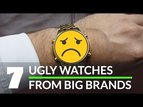 7 UGLY Watches From Iconic Brands [Hublot, Omega, Rolex And Seiko!]